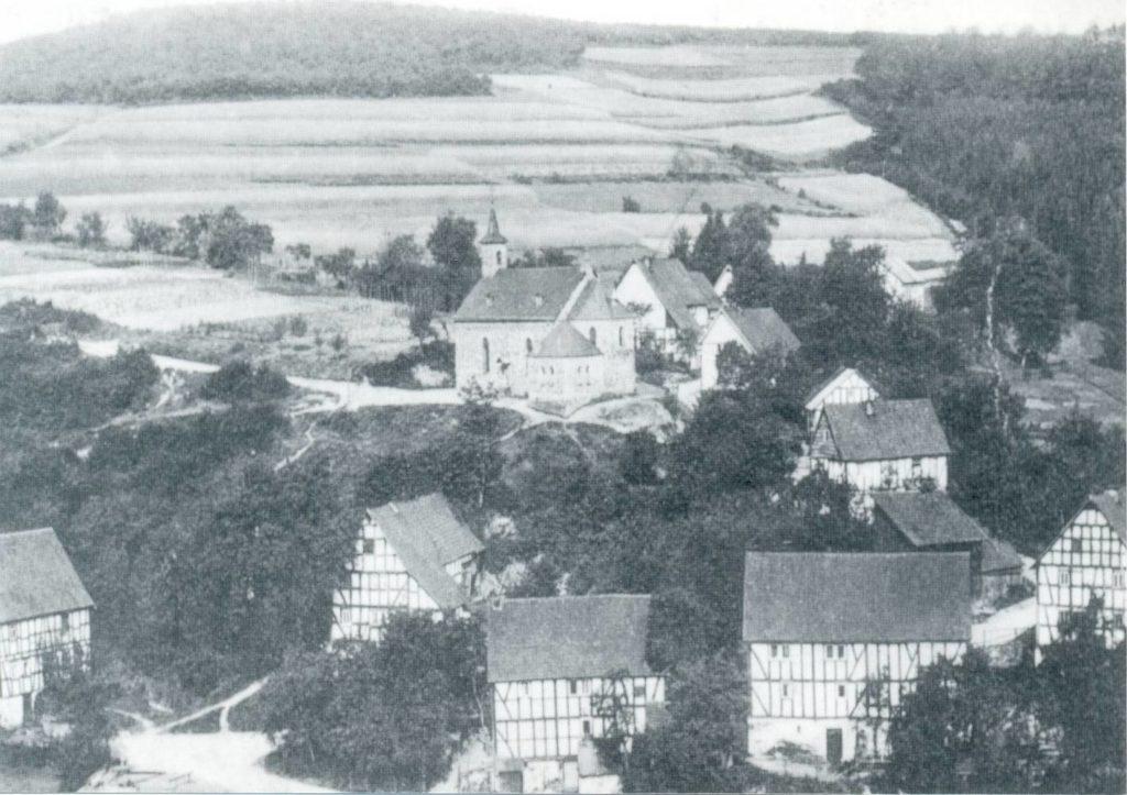 Der Kapellenberg um 1900