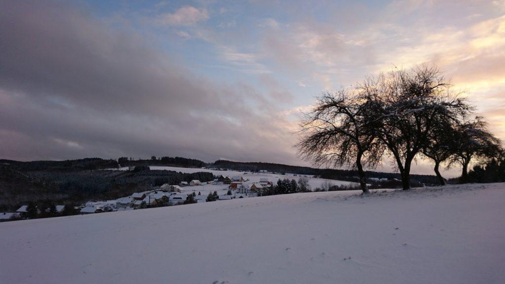 Selbach im Winter