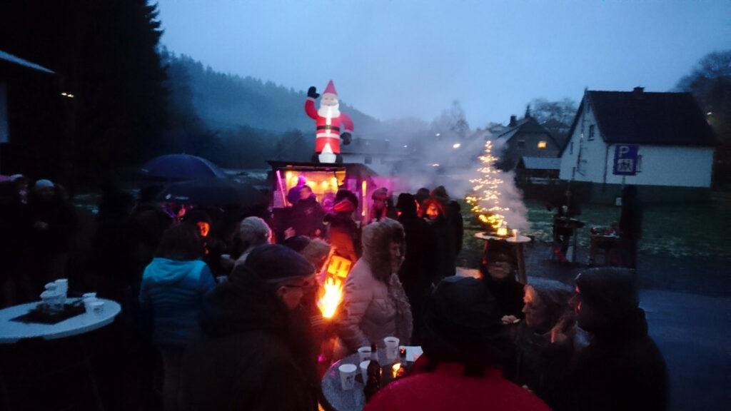 Glühweinbude in Selbach (Sieg)